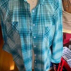 Cotton plaid shirt 2 for ten